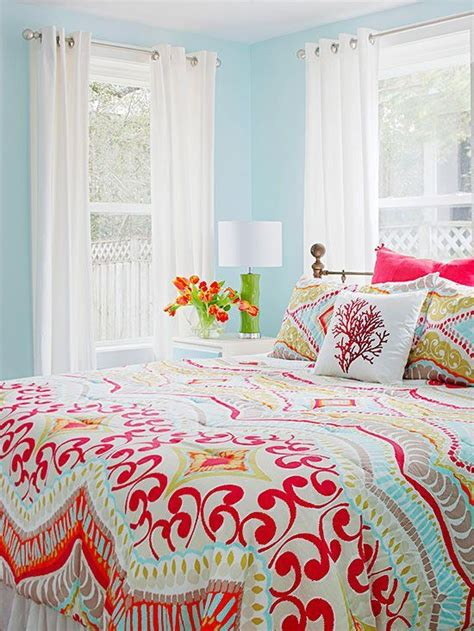 25 best ideas about colorful bedding on pinterest