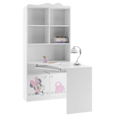 minnie mouse bookcase desk combination azura home design