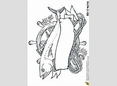 Coloriage mer et marin trophe de peche sur Hugolescargot.com Y Coloring Pages
