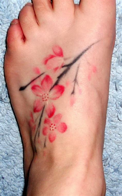watercolor cherry blossom tattoo 50 exles of cherry blossom tattoos for creative