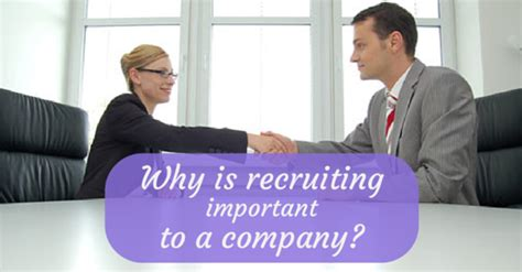 Why Executive Mba Is Important by Why Is Recruiting Important In An Organization Wisestep