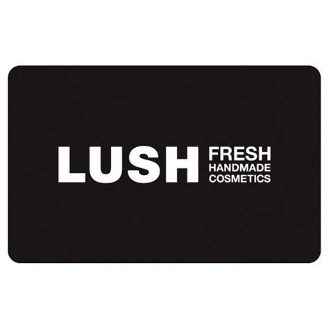 Fresh Gift Card - gift card black gift cards lush fresh handmade cosmetics uk