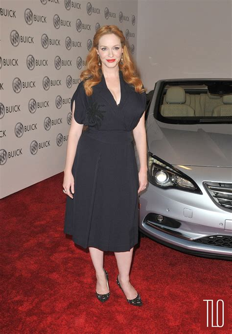 reviews on weaveologist fashion hendricks christina hendricks at the buick test drive launch event