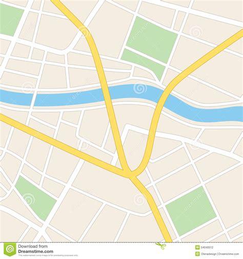 google maps wallpaper windows 7 mapa quadrado com rio ruas e parques ilustra 231 227 o do vetor