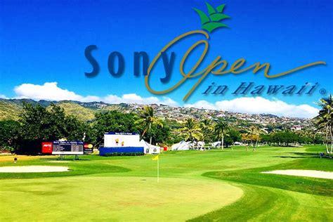 sony open golficity