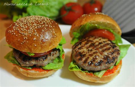 ricette per cucinare gli hamburger hamburger ricetta nonsolodolce di