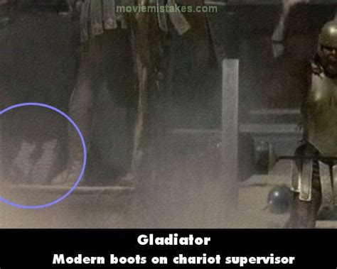 gladiator film errors gladiator movie mistake picture 7