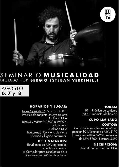 Seminario de Musicalidad – Instituto Universitario
