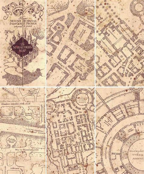 Marauders Map Pinteres Marauders Map Template