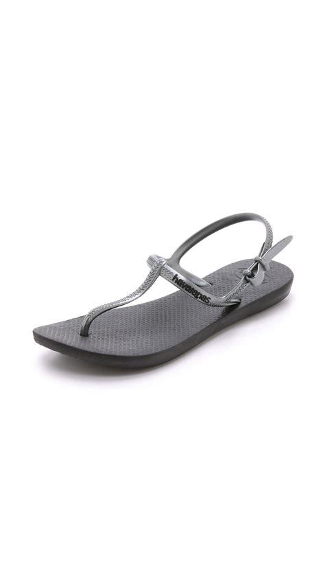 havaianas freedom sandal havaianas freedom t sandals in black lyst