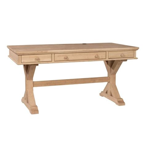 60 inch executive desk 60 inch canyon executive writing desk simply woods
