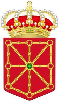 significado cadenas escudo navarra bandera era 218 n
