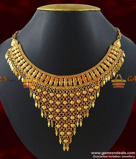 south hill design necklaces nckn196 gold plated hand made choker design arabian