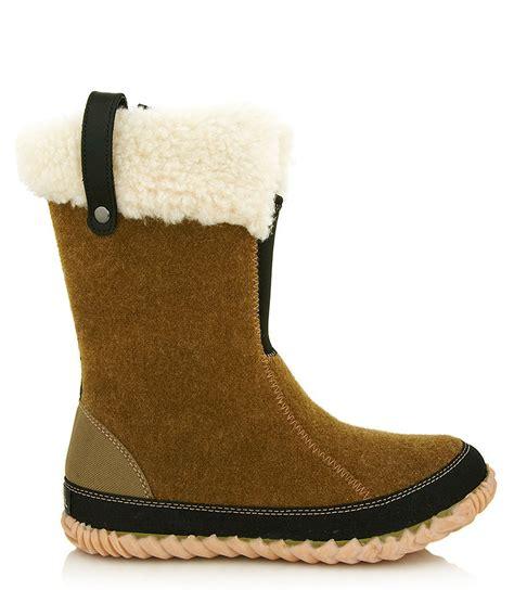 felt boots sorel s cozy bou light caper felt boots designer