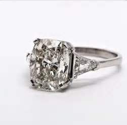 Cushion Cut Ring Cushion Cut Engagement Ring I Do On The