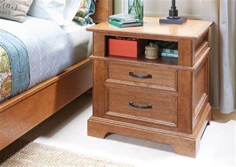 build cedar chest plans nightstand plans woodsmith
