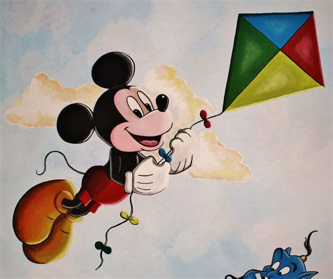 painting mickey mouse mickey mouse mural painting by bonniemarie on deviantart