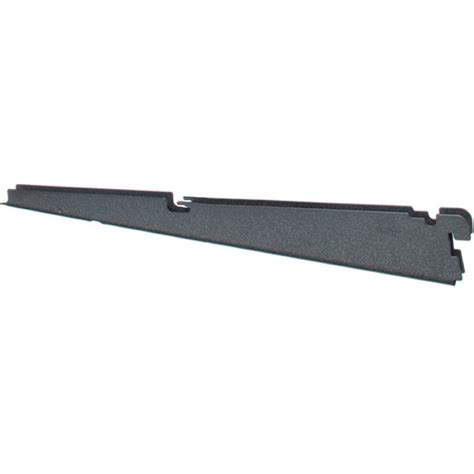 Wire Shelf Bracket Granite In Freedomrail Garage System Wire Shelving Brackets