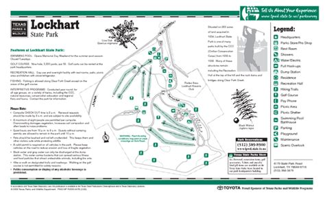 state park map texas lockhart texas state park facility and golf course map lockhart texas mappery