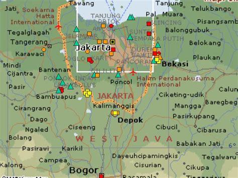 jakarta carte  image satellite