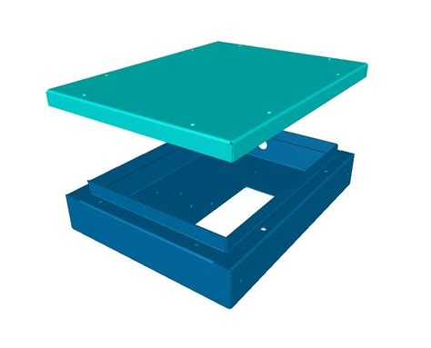 Sheet Metal Cover by Sheet Metal Housing And Cover Http Www Vandf Co Uk Sheet Metal Work In 3d Software