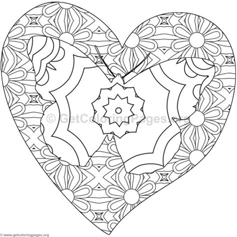coloring pages of hearts and butterflies butterfly and heart coloring pages 4 getcoloringpages org