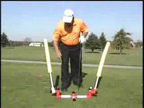 golf training aids swing plane basic plane trainer golf swing trainer youtube