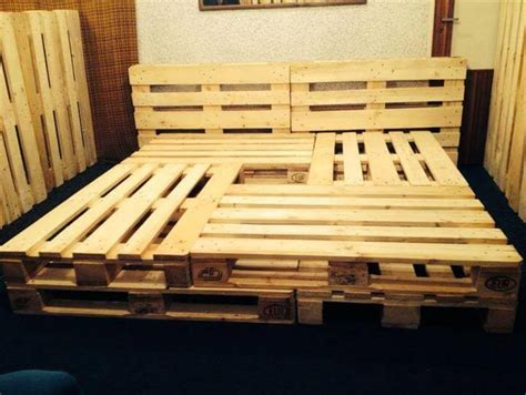 king size pallet bed 10 brilliant pallet furniture ideas pallet furniture diy