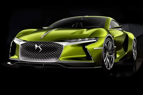 Super, charged: DS E Tense GT concept revealed by CAR Magazine