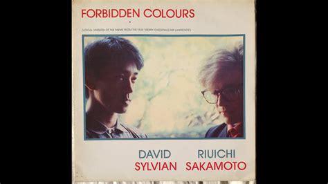 ryuichi sakamato david sylvian forbidden colours youtube