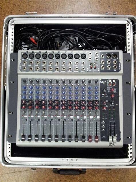 Mixer Peavey Pv 14 Usb peavey pv 14 usb image 794467 audiofanzine