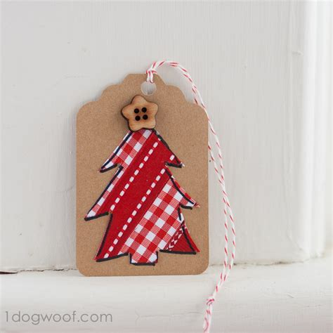 Handmade Gift Tags Ideas - gift tags day 8 ribbon tree