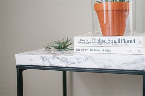 contact paper desk makeover how to with marble contact paper