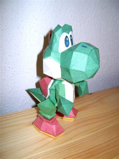 Yoshi Papercraft - papercraft yoshi by 18lala111 on deviantart