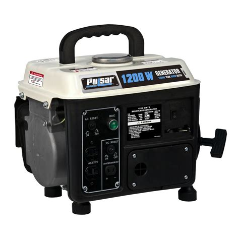 pulsar 1 200 watt 2 stroke gasoline powered portable