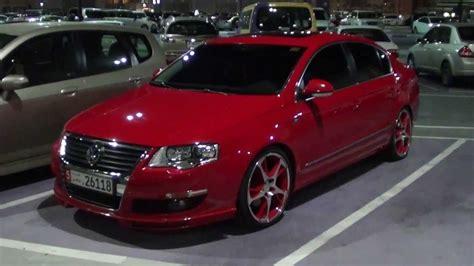 red volkswagen passat vw passat abt red custom full hd youtube