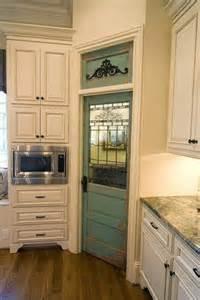 vintage pantry door pantry