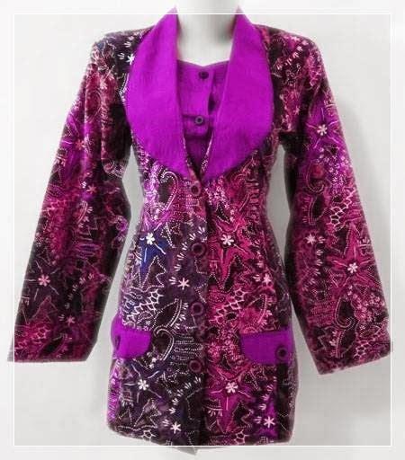 model baju resmi terbaru model baju batik resmi wanita penuh warna
