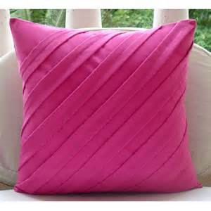 luxury textured pintucks solid color throw pillows cover