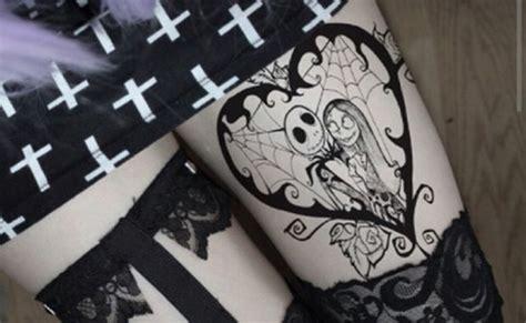 imagenes de tatuajes de jack tatuajes de jack skellington a vueltas con halloween