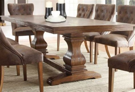 Dining Table Design 35 Gorgeous Wood Dining Table Set Design Ideas W Pictures
