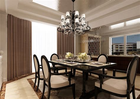 Dining Room Designs With Simple And Elegant Chandilers | selecting the right chandelier to bring dining room to