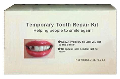 temporary tooth repair kit temp dental fix missing for 30