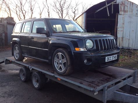 Jeep Chrysler Uk Jeep Patriot 2 0crd Breaking For Parts Ns Headlight