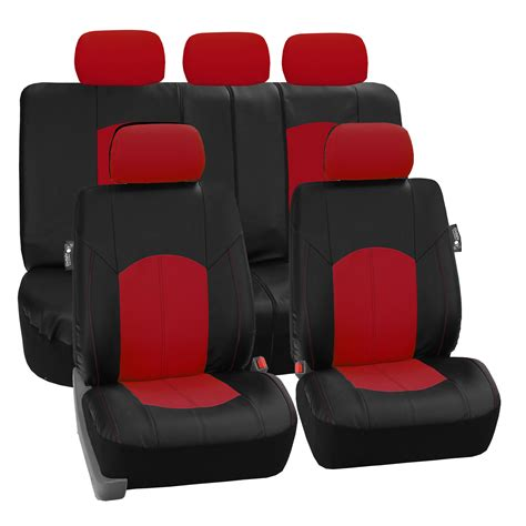 seat covers for seats with airbags deluxe perforated leather car seat covers airbag safe