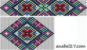 free bead loom pattern bead looming