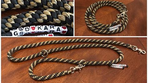 how to make a paracord leash how to make a paracord leash shape 7 in 1 diy versatile durable solid