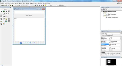 download source code visual basic membuat database access membuat radio online channel list menggunakan visual basic
