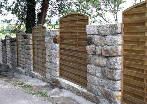 Sichtschutz Holz Modern 308 by Sandsteinmauer Und Sichtschutzelemente Garten Mauern Und