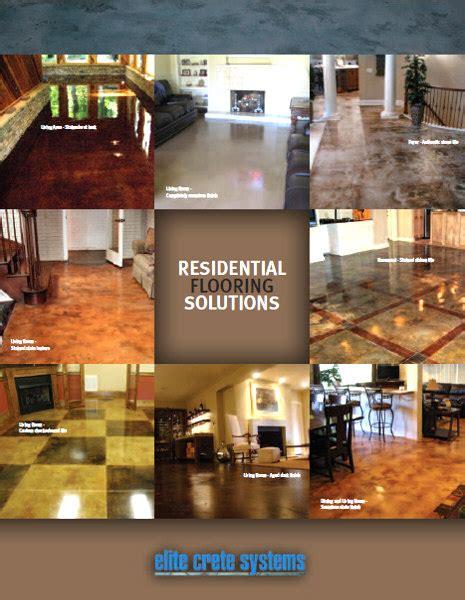 Product Brochures   Epoxy Coating, Polished Concrete, Self
